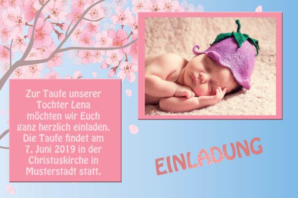 Einladungskarten Zur Taufe Killefit Photo Cards